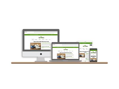 Cool Beans Coffee Website elementor wordpress website design web development