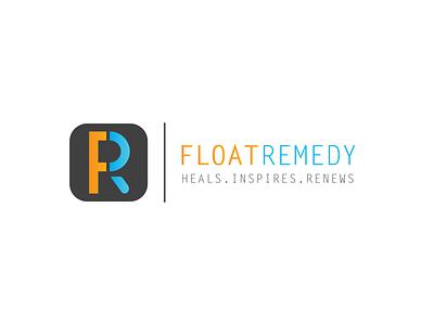 Float Remedy Logo icon typography design logo