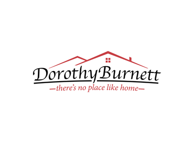 Dorothy Burnett Realtor Logo branding typography logo