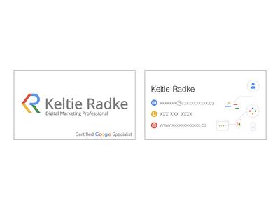 Keltie Radke Business Cards bussines card