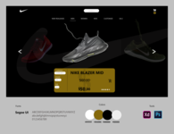 NIKE CART CONCEPT graphics inspiration shopping cart shop nike ui ux uiux design branding