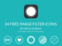Image filter icons