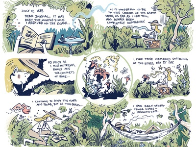 Life's Work comics comic colorful drawing cartoon illustration