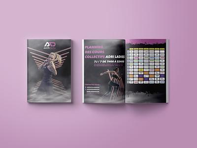 ADRILADIES illustration app ux ui brand design typography logodesign logo design branding