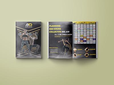 ADRIGYM app illustration ux ui brand design typography logodesign logo design branding