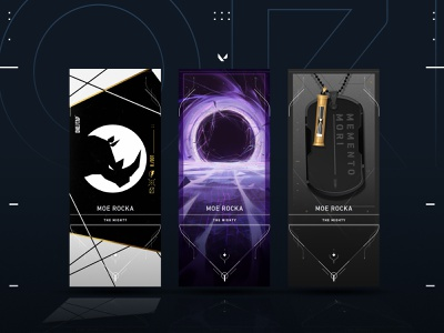 VALORANT Player Cards illustration riotgames graphic design playercards