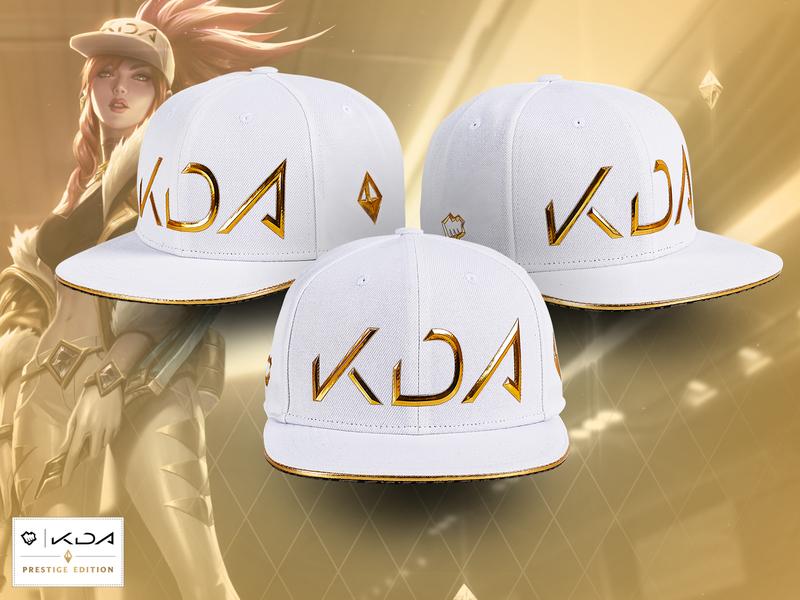 K/DA Prestige Snapback prestige akali kda akali kda hat design apparel design riotgames riotgamesmerch leagueoflegends