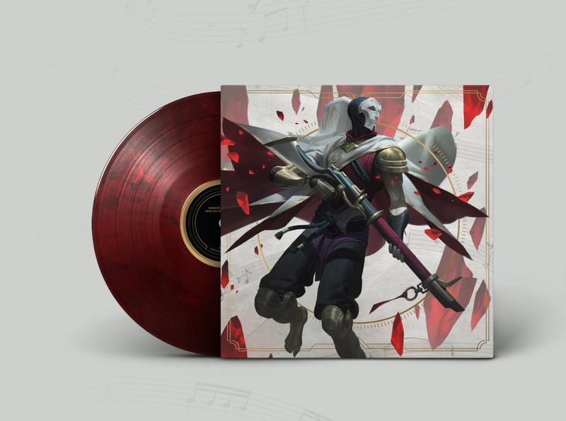 League of Legends - 10 Year Orchestral Vinyl jhin league10 orchestral music record vinyl iam8bit riotgames riotgamesmerch leagueoflegends