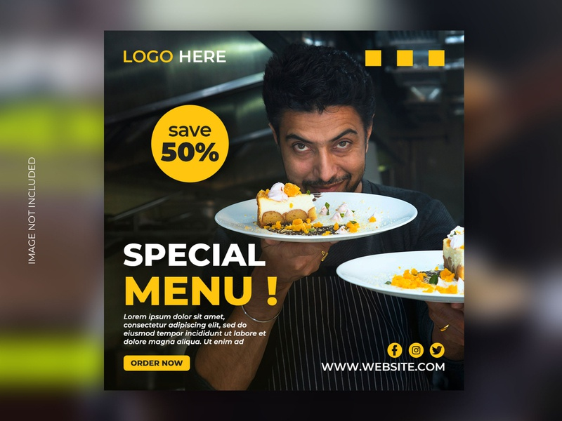 Food banner design graphic design fresh food flyer logo cake restaurant food super sale branding social media banner ramadan facebook ad banner ad banner social media instagram mega sale