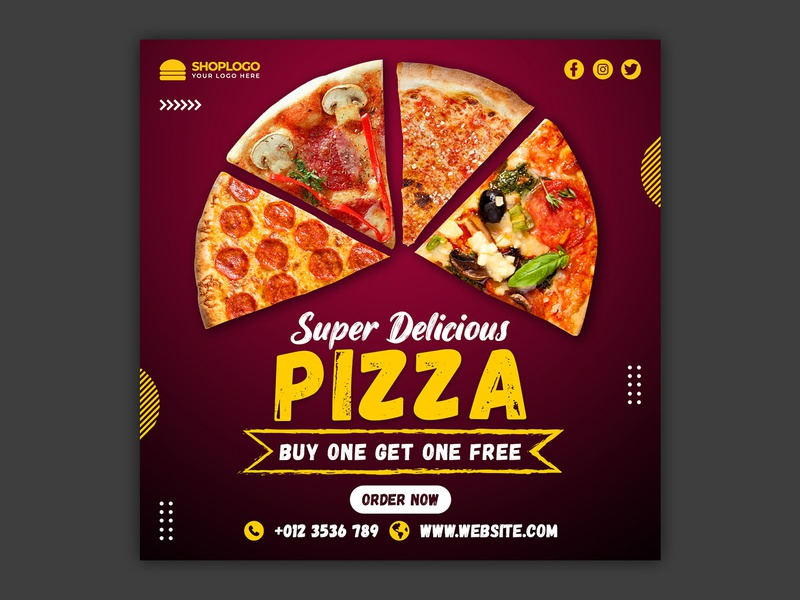 pizza banner sale