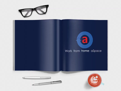 aSpace Brochure aspace hub coworking space brochure layout brochure mockup mockup brochure design concept animation design branding