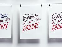 Fear No Failure