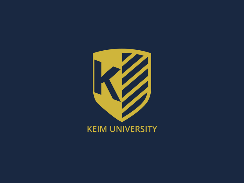 Daily Logo Design Challenge Day 38 - College/University monogram design old gold navy blue college logo university logo shield logo logodesign graphic design logo design design logo dailylogo dailylogochallenge