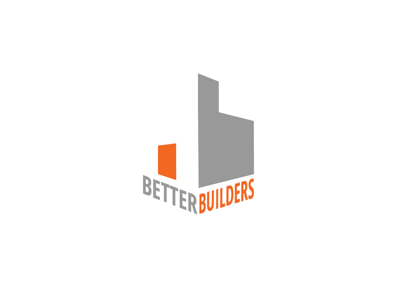 Daily Logo Design Challenge Day 45 - Construction Company building logo construction construction company construction logo geometric minimal graphic design design logo logo design dailylogo dailylogochallenge