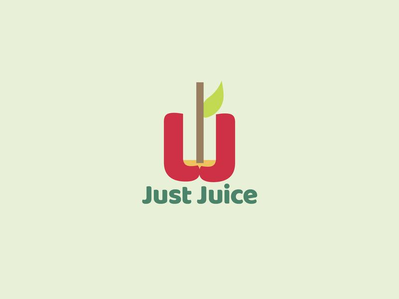 Daily Logo Design Challenge Day 47 - Juice or Smoothie Company juice logo apple logo illustration geometric logodesign design logo graphic design dailylogo logo design dailylogochallenge