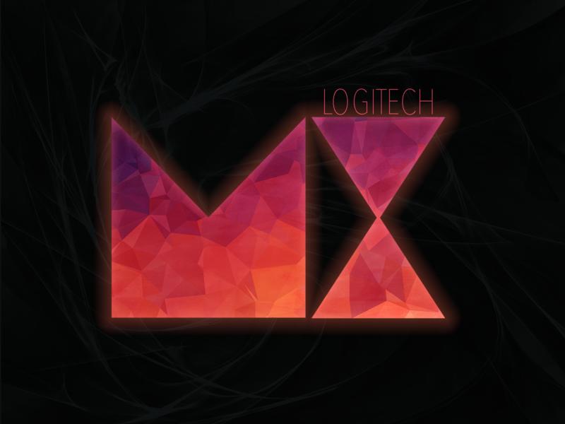 Logitech MX Master Series lowpoly geometric design graphic design design mx logitech playoffs
