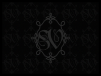 SV Monogram illustrator art black monochrome monogram damask victorian gothic illustration design dribbbleweeklywarmup