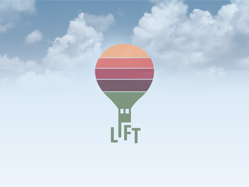 Daily Logo Challenge Redesign Day 2 - Hot Air Balloon colorful sky redesign hot air balloon illustration logodesign logo design graphic design logo design dailylogo dailylogochallenge