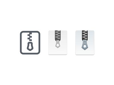 Zip zip icon
