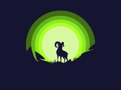 Powerful art illustrator vector icon logo illustration design