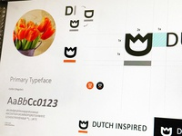 Dutch Inspired - Logo design process