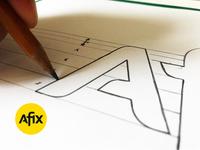 Afix - Logo design