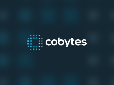 Cobytes - Logo design font logotype logodesign mark branding logo