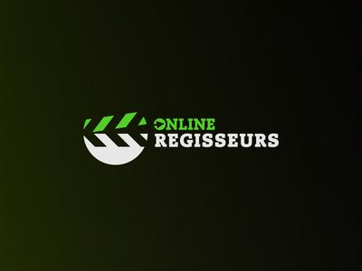 Online Regisseurs - Logo design font logotype logodesign mark branding logo
