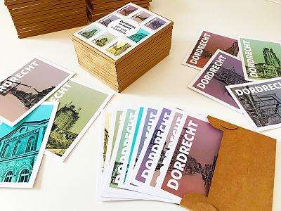 Postcards of Dordrecht city city marketing dordrecht postcard