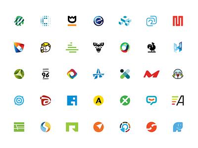 Small collection of logo marks graphic  design branding brand and identity logo mark logo icon logo design