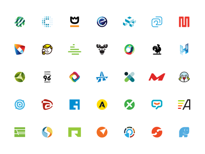 Small collection of logo marks