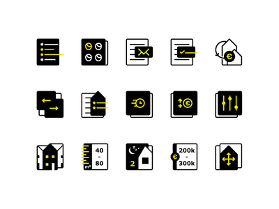 Makel - Custom icon set icon design icon set icons