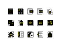 Makel - Custom icon set