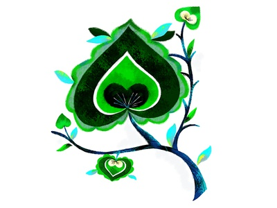 Hmong Leaf Motif