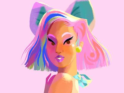 Candy Coloured Girl I