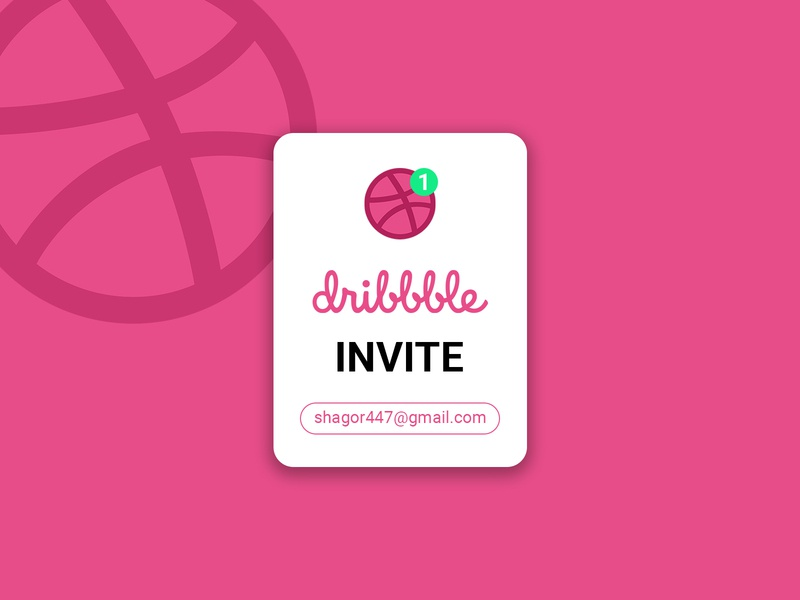 Dribbble invitations for Giveaway dribbble giveaway dribbble invite dribbble invitation invitation