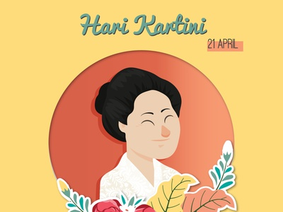 Kartini Days illustration design