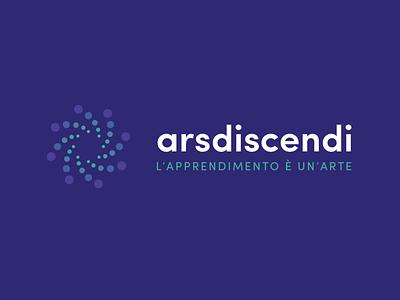 Arsdiscendi logo learning education academy branding logo
