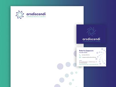 Arsdiscendi - Visual Identity education learning academy branding logo