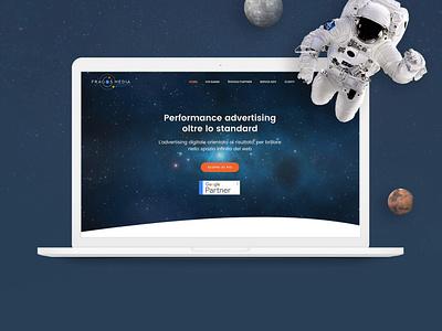 Fragos Media - Website gravitational attraction target orbit space onlineadvertising moon planet