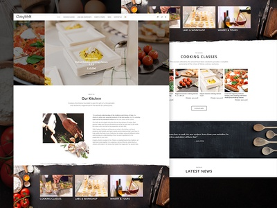 Cookery World - Home Page