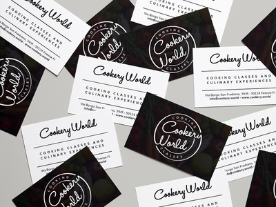 Cookery World - Branding