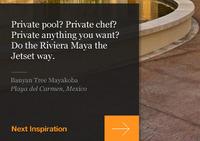 Private pool?