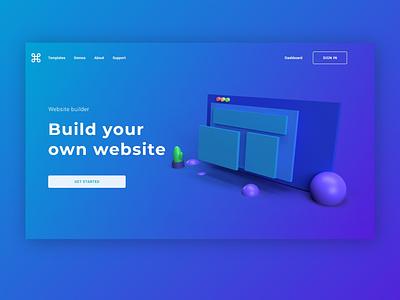 Website Building Website! ux typography graphic design website web ui logo illustration design branding