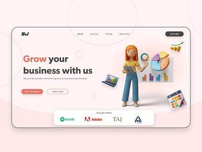 SJ- Digital Marketing Firm digital marketing company dm marketing digital marketing web design ui design typography ux vector graphic design ui web logo illustration branding design