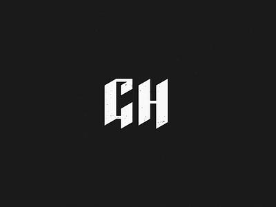 Good Hands typography gh monogram identity good hands branding brand blackletter