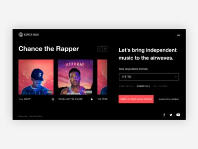 Rapper Radio (work in progress)