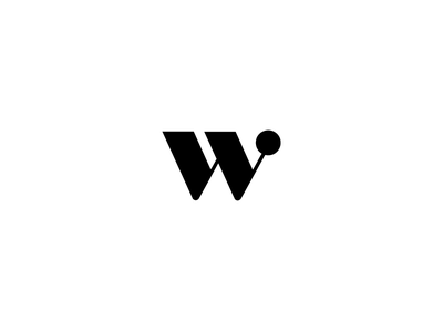 Runner-up logo for a women's fashion company w mark w branding brand serif minimal mark identity logo