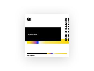 Album Artwork for Release Playlist graphic design ui spotify playlist brutalist minimalist vaporwave music album design album artwork album art
