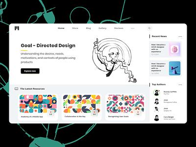 HomePage dribbbleweeklywarmup sketch webdesign ui design uidesign xd color digital designs practice ui design dribbble